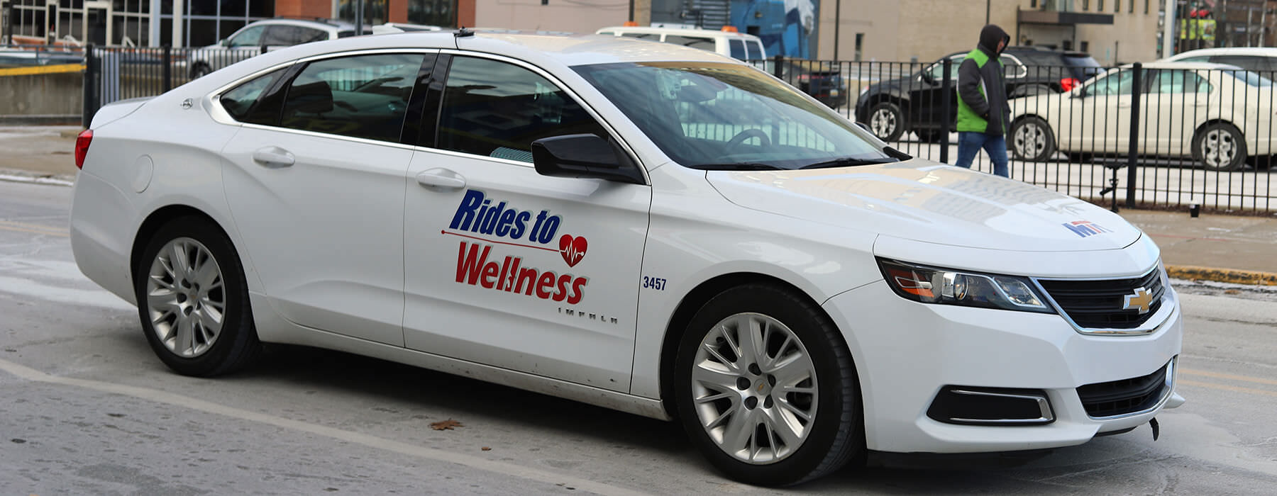 A Rides to Wellness vehicle.