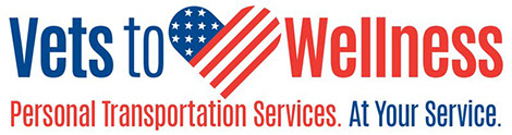 Vets to Wellness Personal Transportation Services. At Your Service.